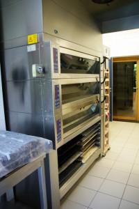 Four de l'atelier boulangerie